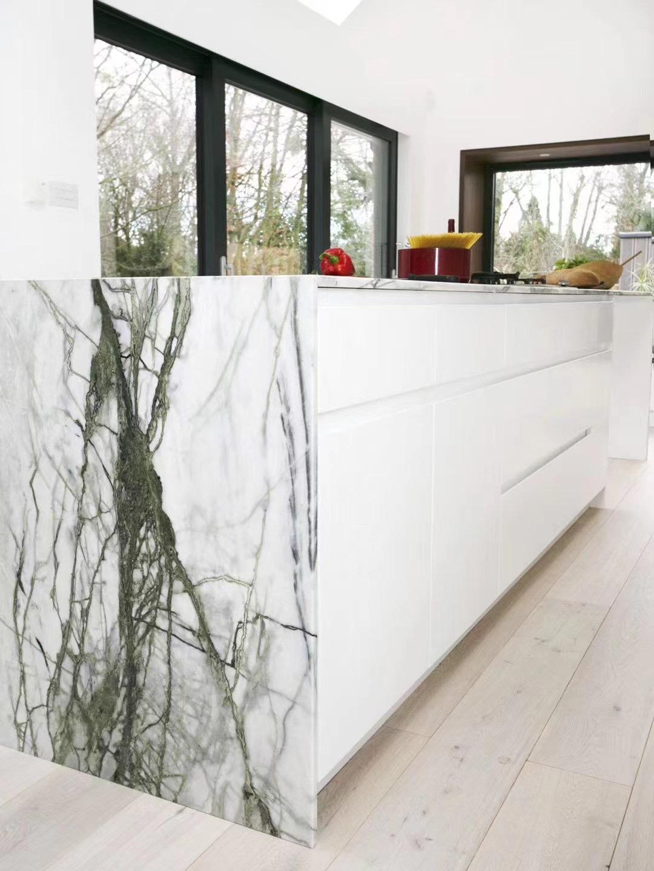 Calacatta Verdi Marble China For Countertops