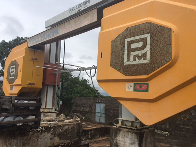 Multiwire and monowire stone cutting machines