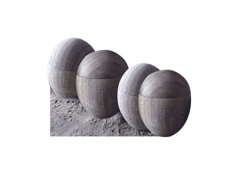 Grey Dark Green Stone Urns for Human Ashes