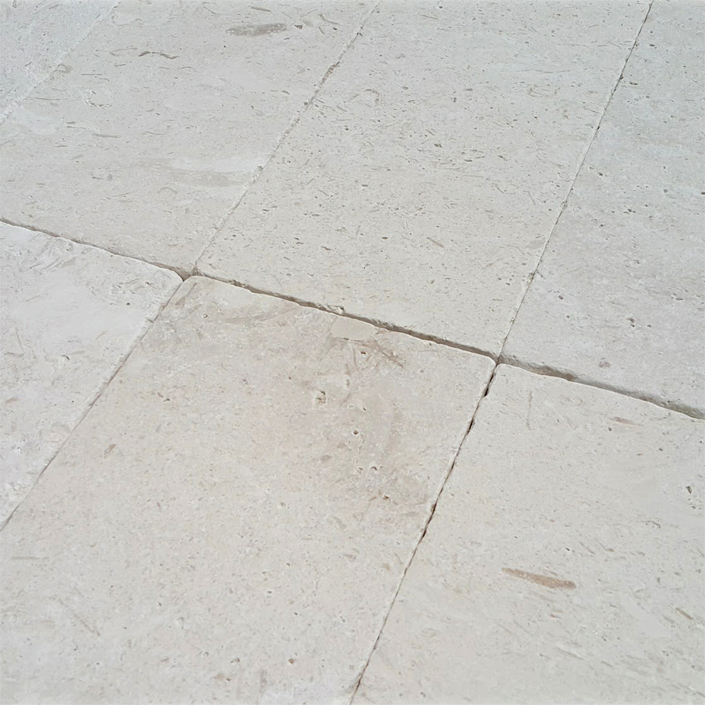 Fossil Limestone Pavers & Tiles From Turkey
