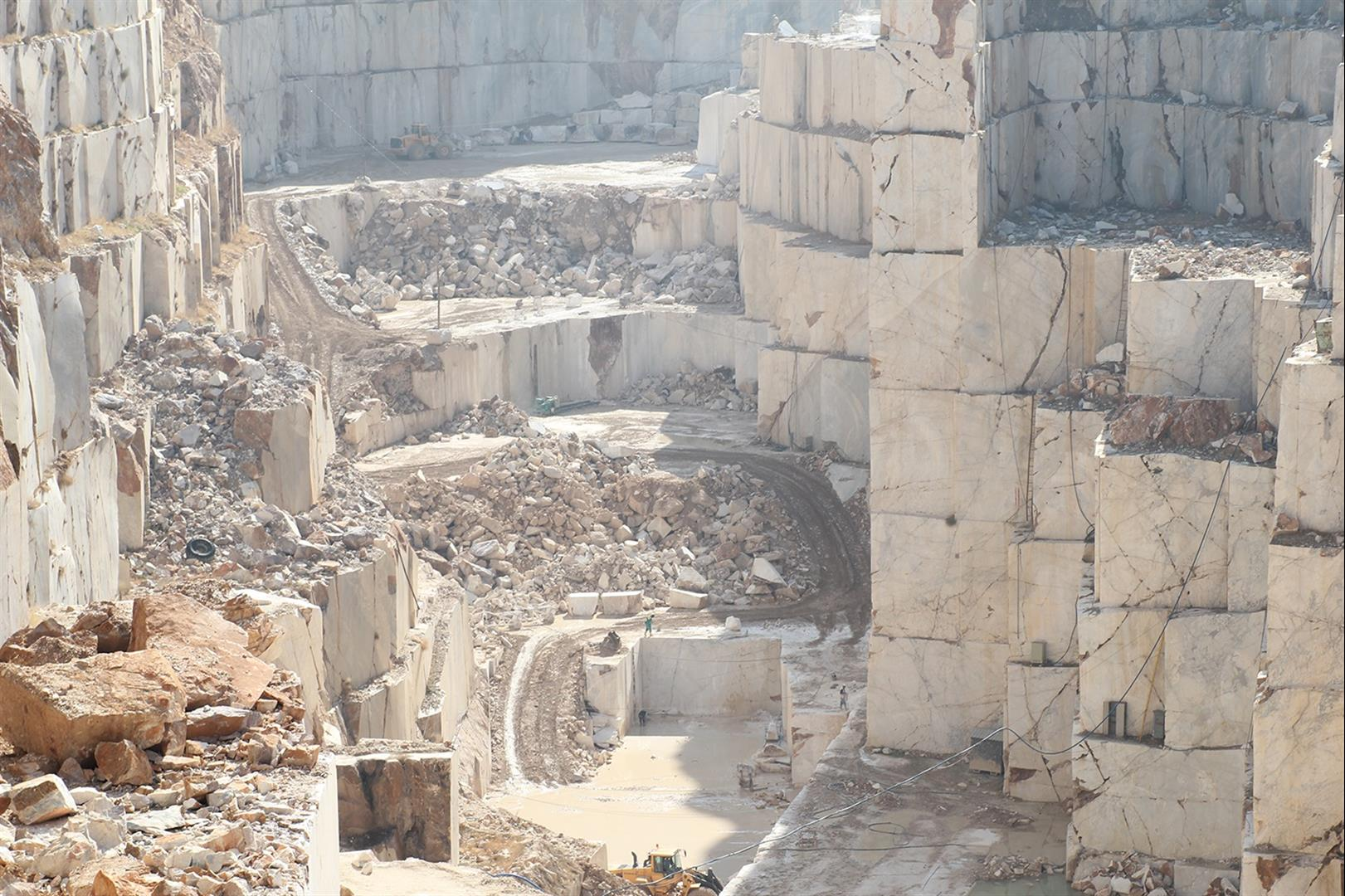 Afyon White Marble Quarry