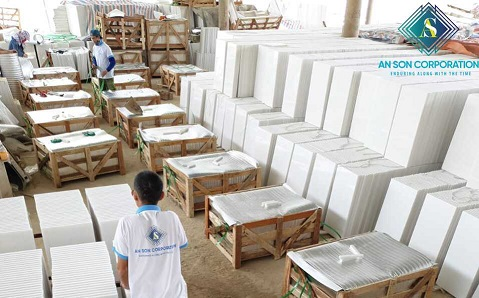 Packing White Marble For Customize