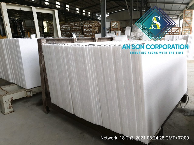 Packing White Marble Cut to size