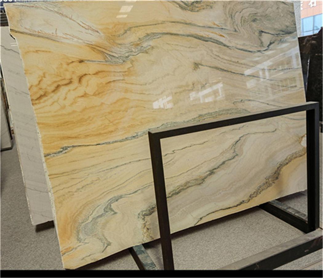 Yellow Quartz Brazil Stone