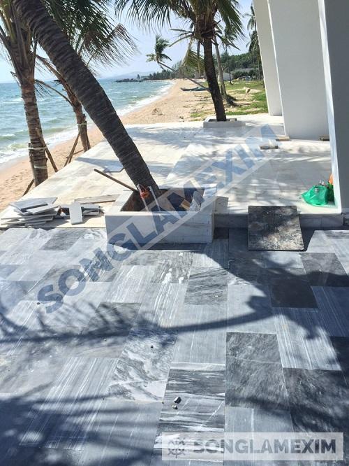 Argento Marble Sandblasted