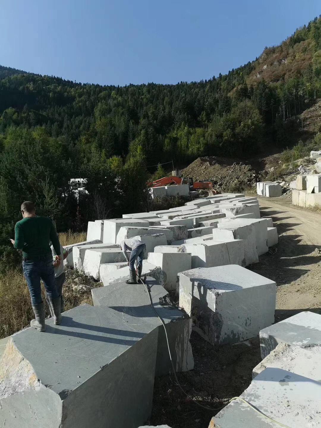 Scotland Grey Marble Blocks