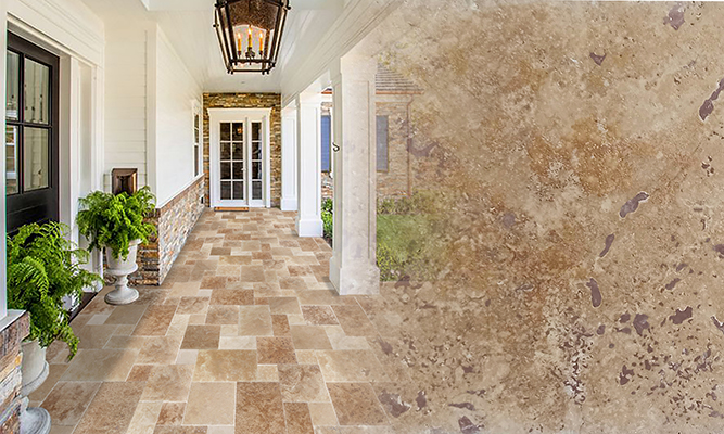 Tuscany Mix Pattern Set Travertine
