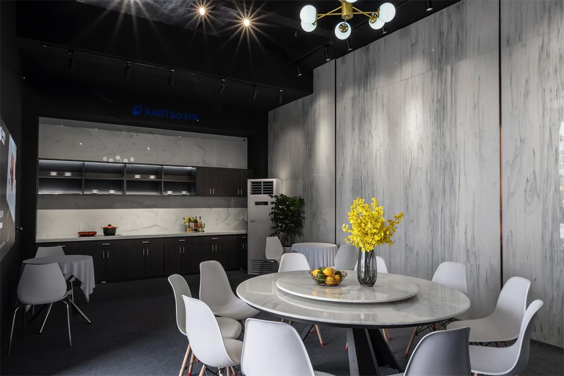 Kartso Calacatta  Nano Crystallized Glass Stone Slab For table top or wall