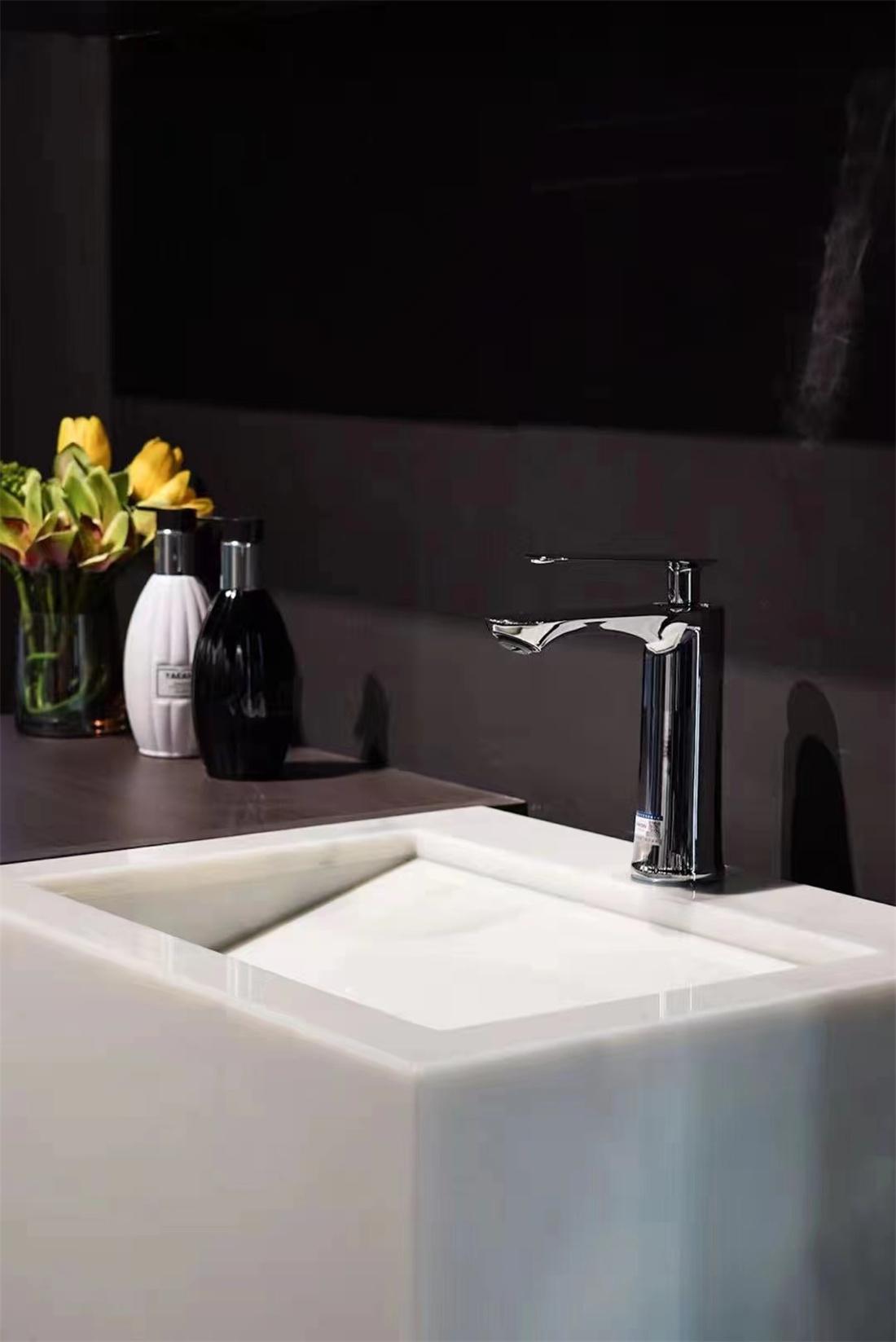Kartso Calacatta  Nano Crystallized Glass Stone Slab For bathroom vanity top