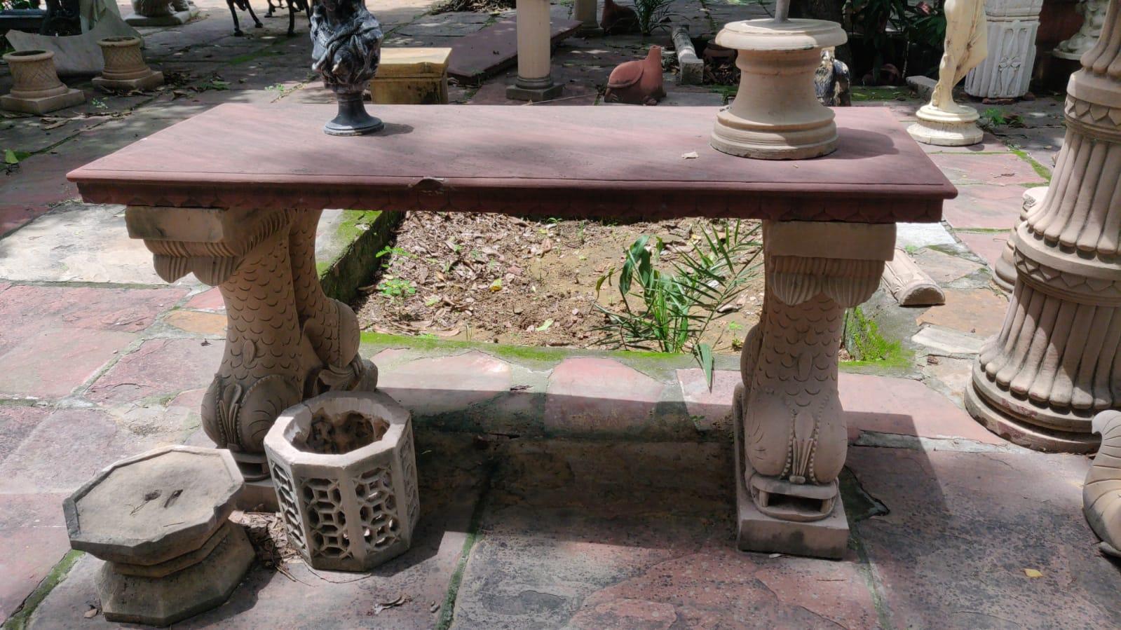 Exclusive Sandstone Outdoor  Table
