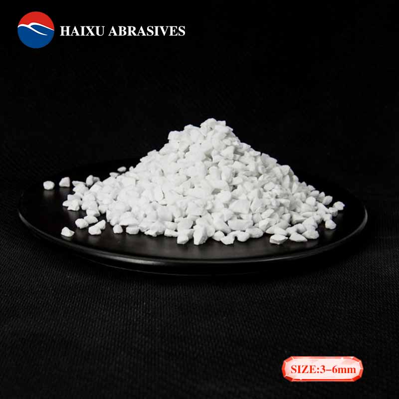 Tabular aluminum oxide powder