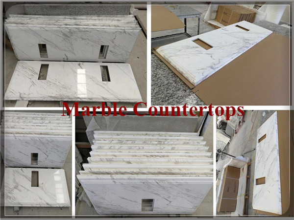 Volakas white marble vanity top