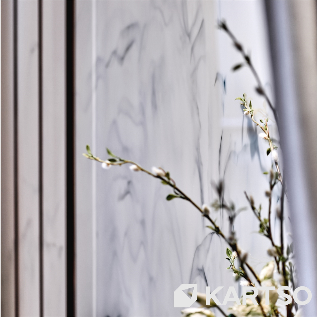 calacatta Artificial Glass Stone for Wall Decoration and Flooring