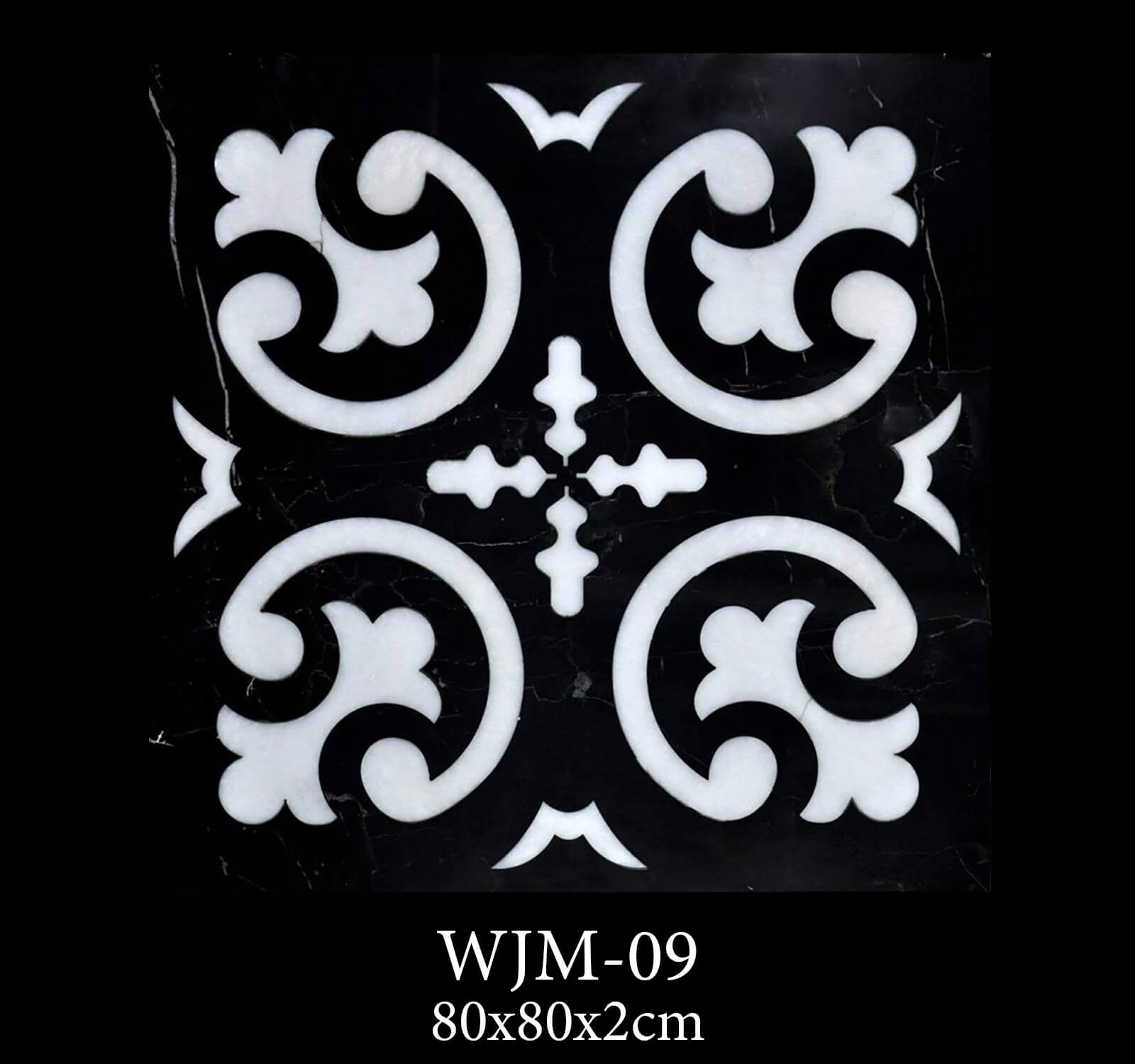 Waterjet Medallion WJM09