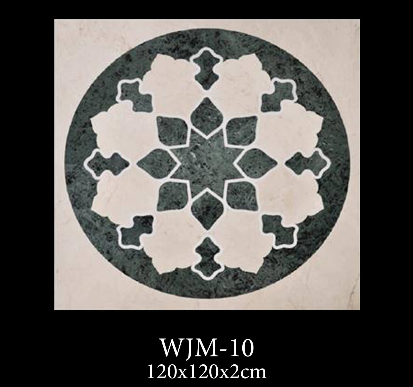 Waterjet Medallion WJM10