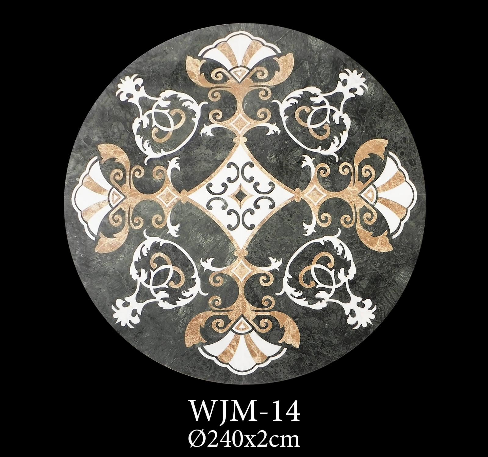 Waterjet Medallion WJM14-2