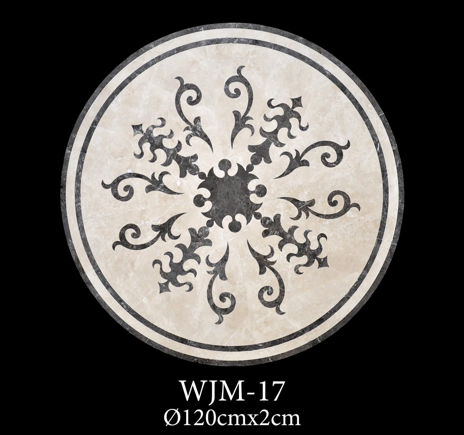 Waterjet Medallion WJM17