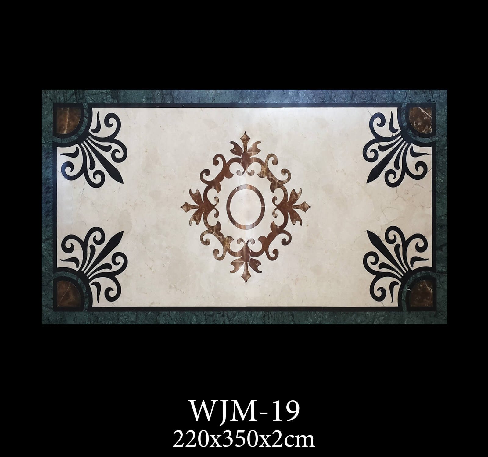 Waterjet Medallion WJM19-2