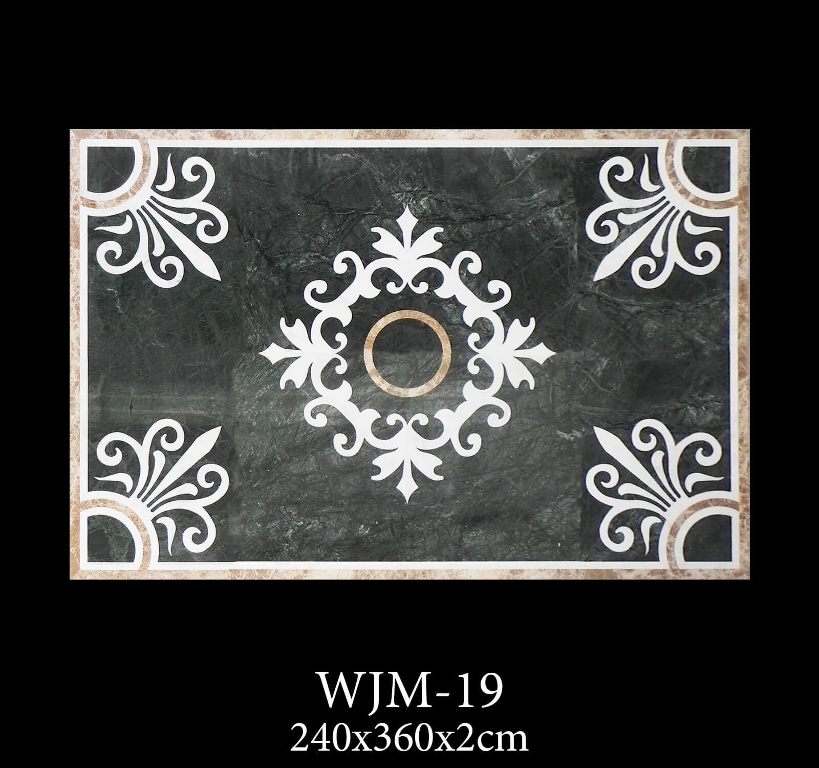 Waterjet Medallion WJM19-3