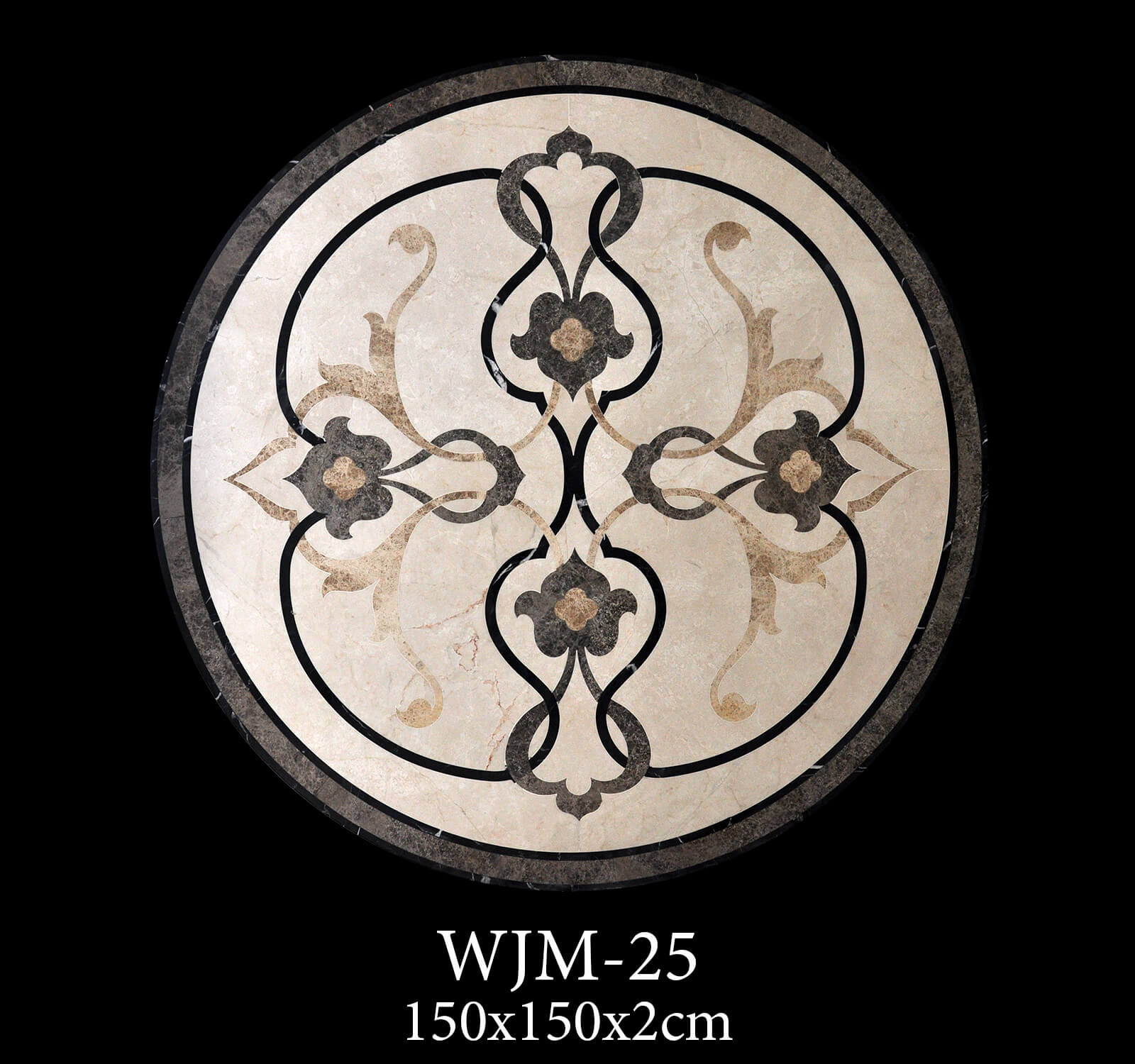 Waterjet Medallion WJM25