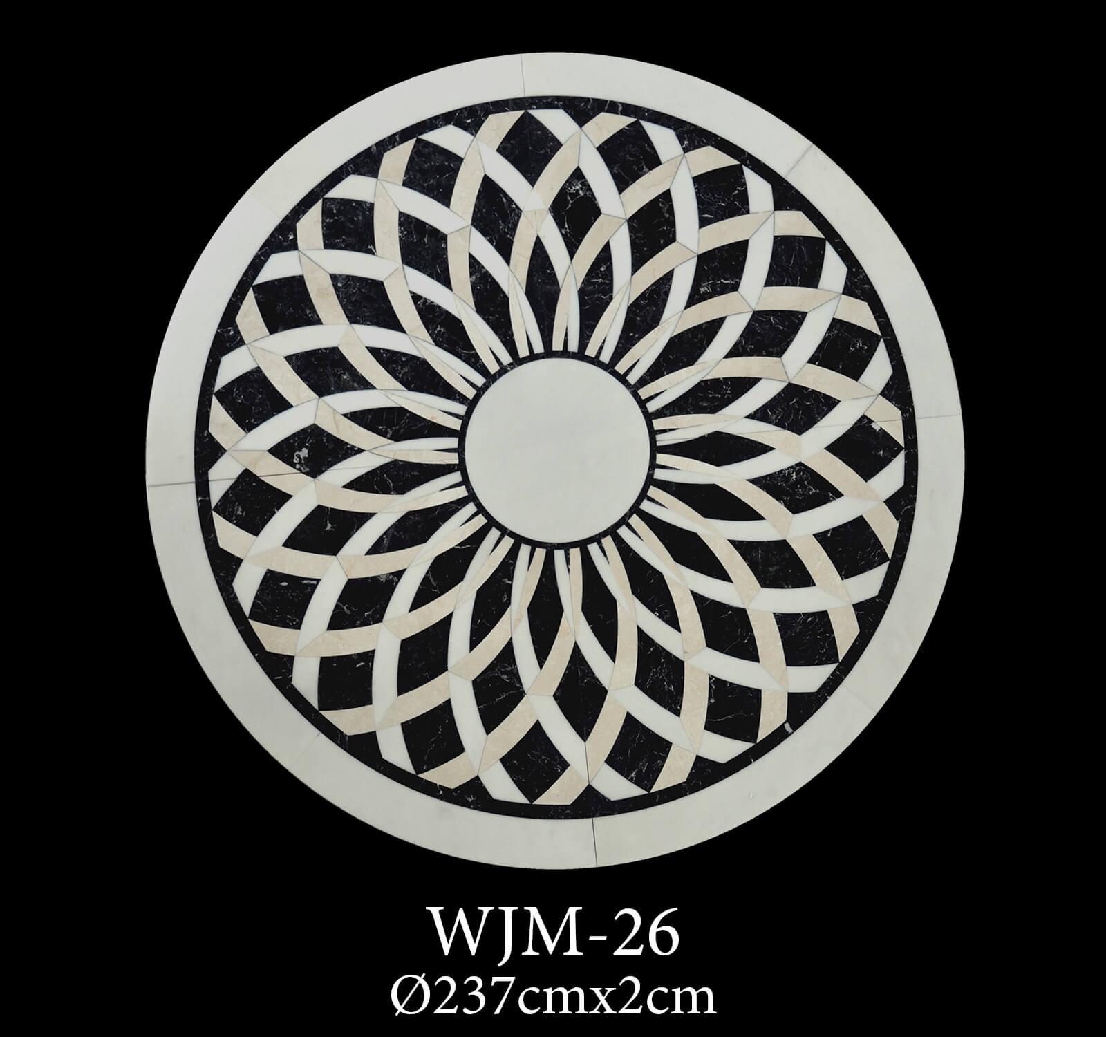 Waterjet Medallion WJM26