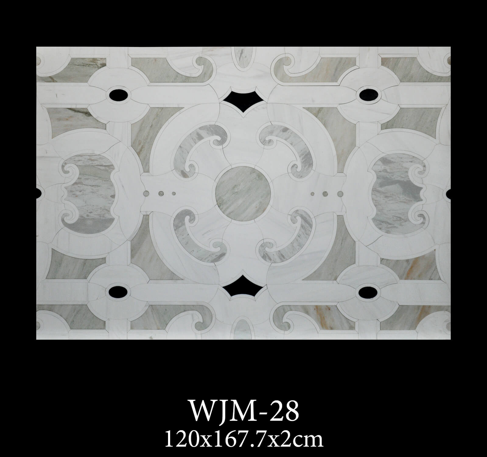 Waterjet Medallion WJM28