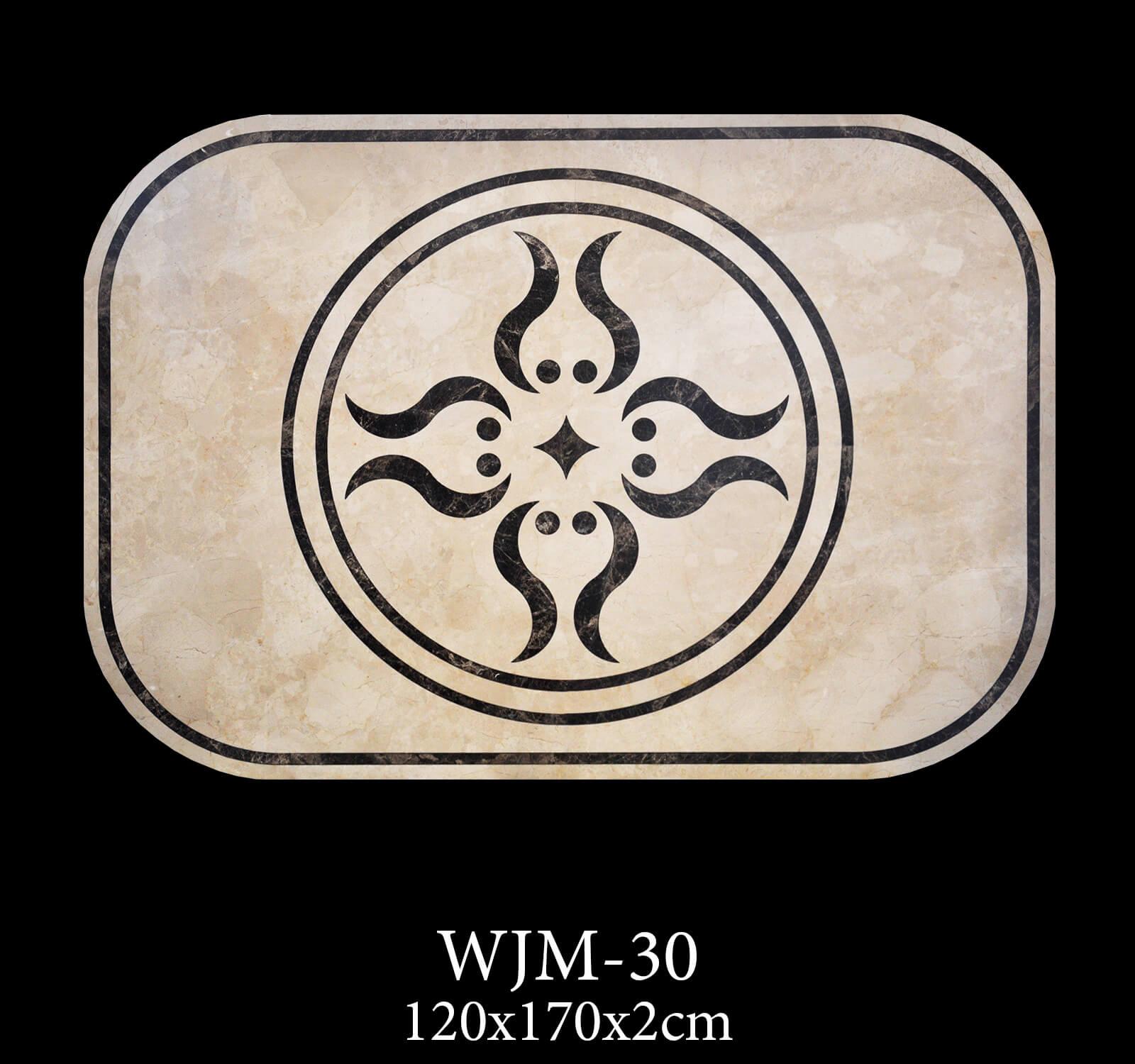Waterjet Medallion WJM30