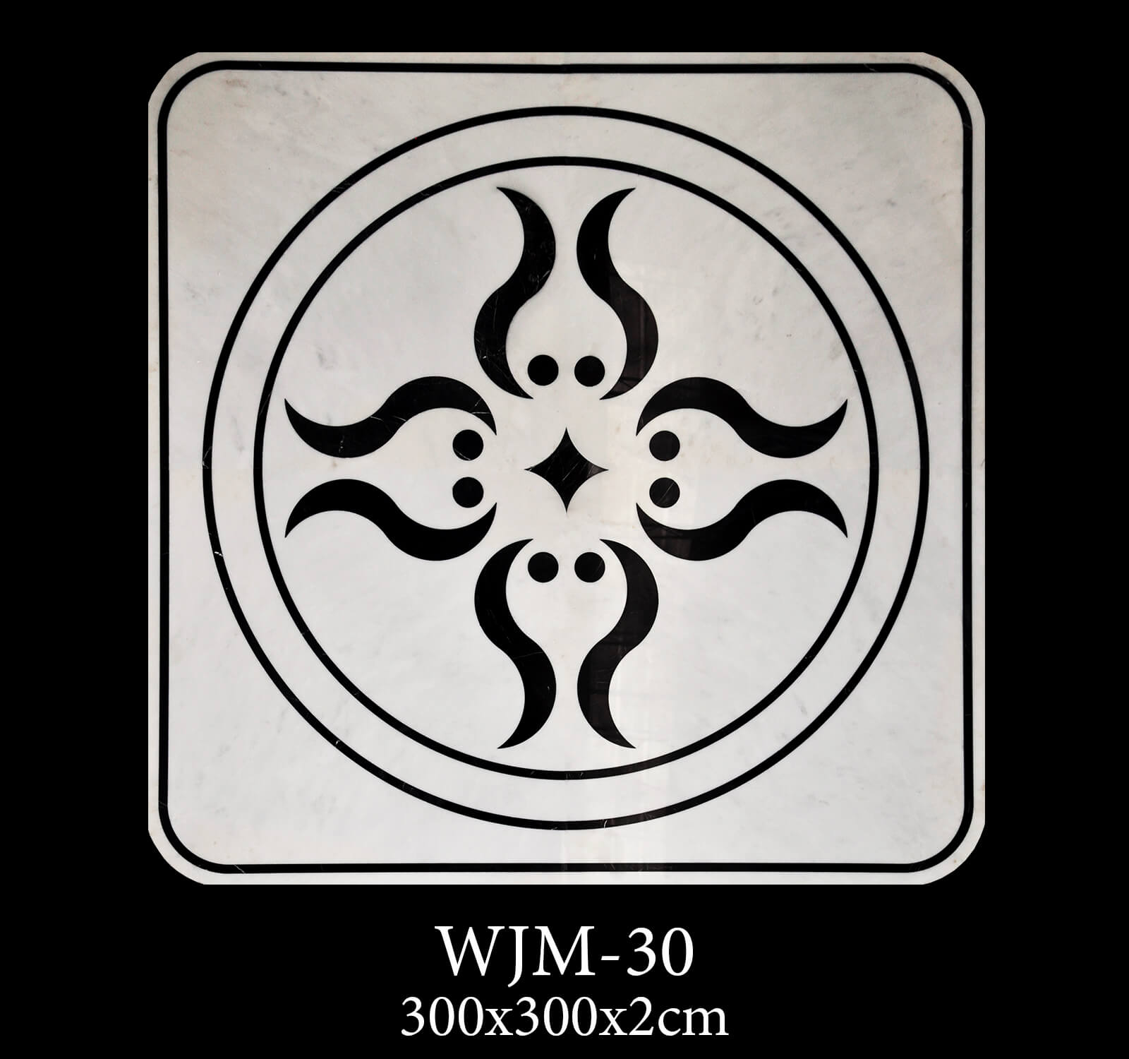 Waterjet Medallion WJM30-1
