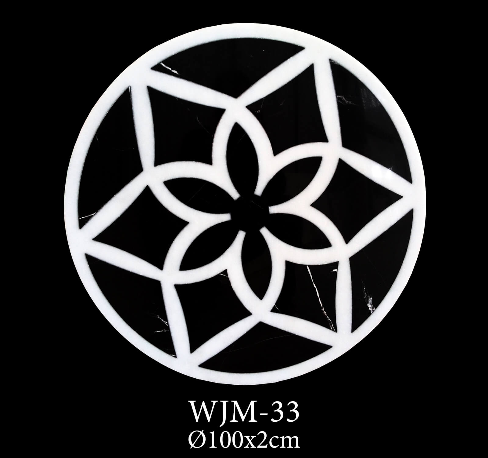 Waterjet Medallion WJM33