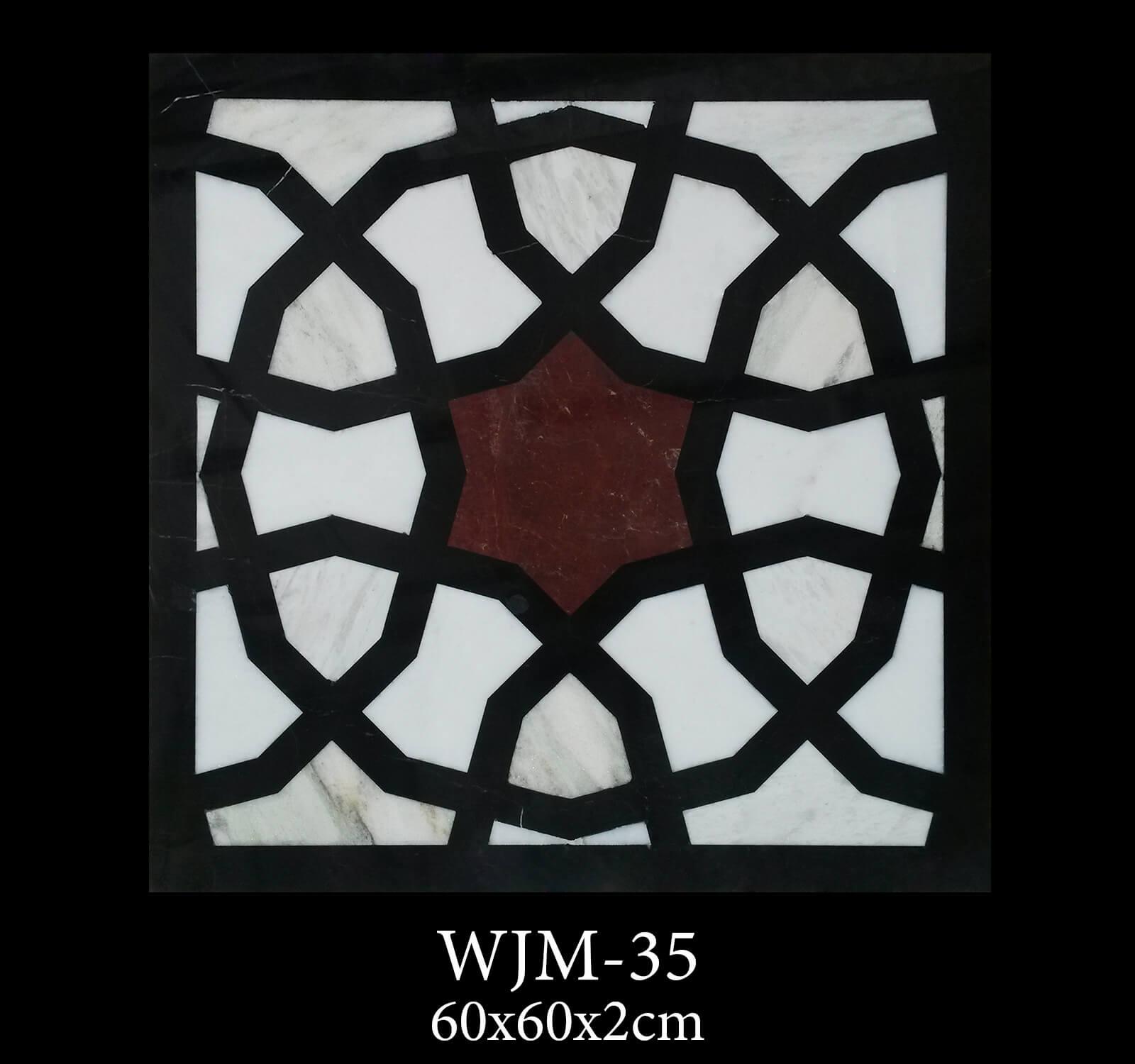 Waterjet Medallion WJM35