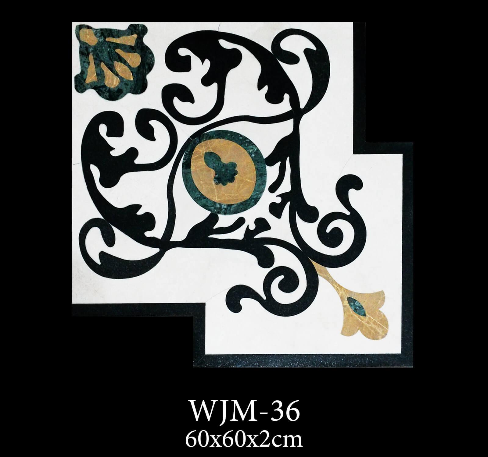 Waterjet Medallion WJM36