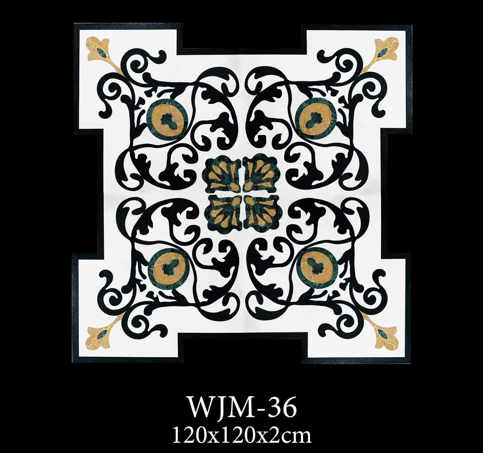 Waterjet Medallion WJM36-2