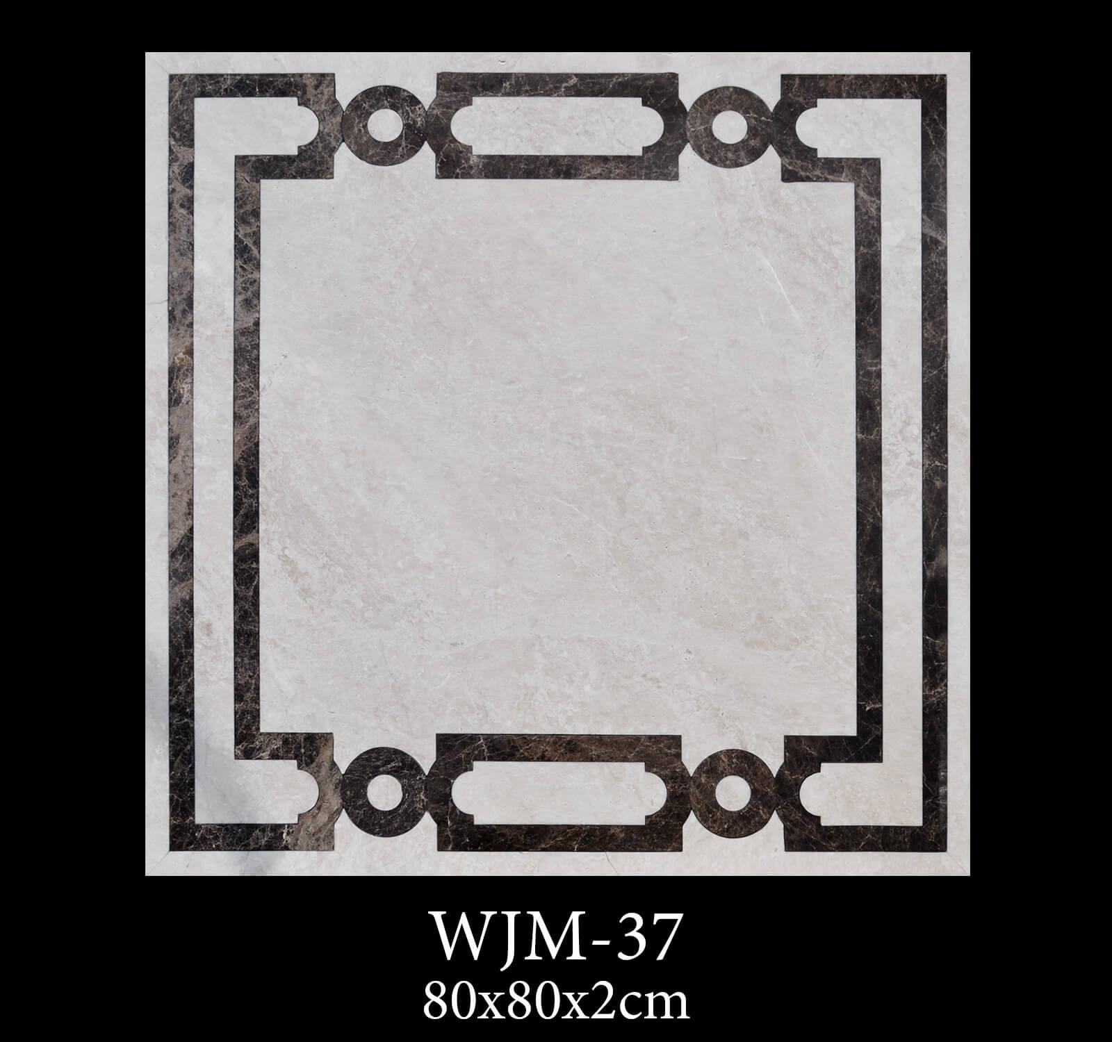 Waterjet Medallion WJM37