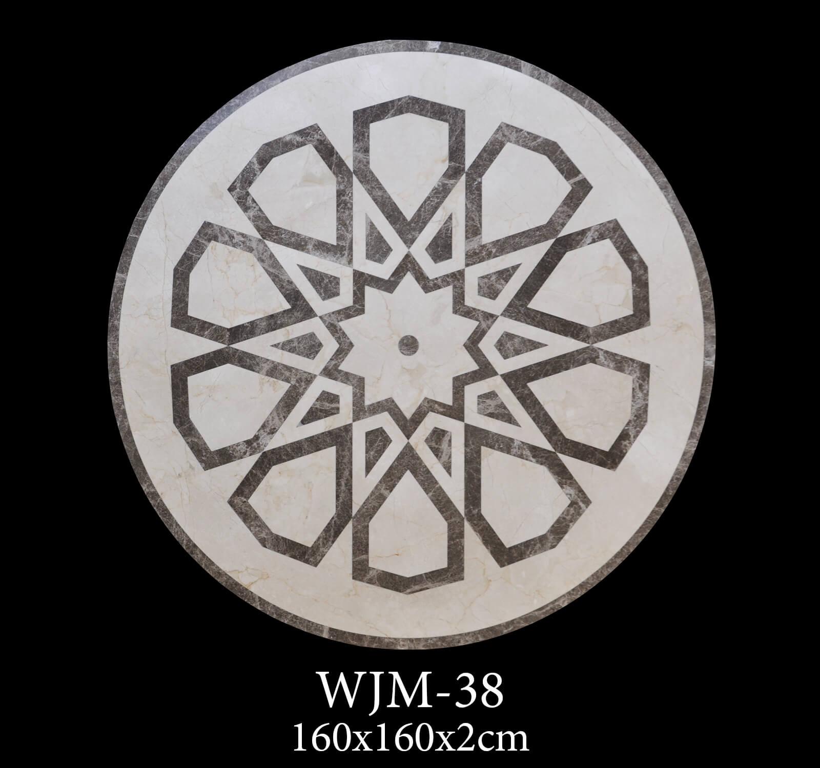 Waterjet Medallion WJM38