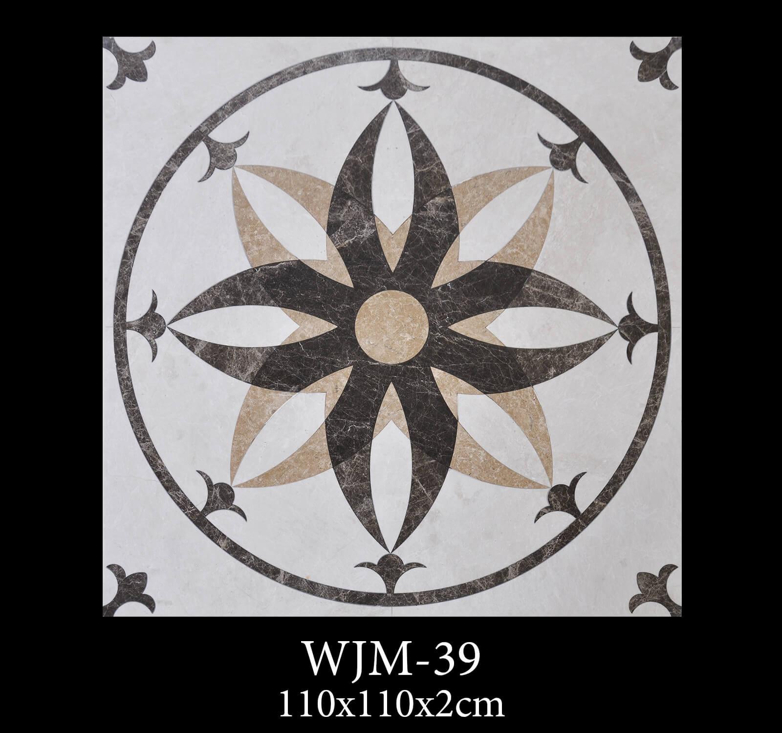 Waterjet Medallion WJM39