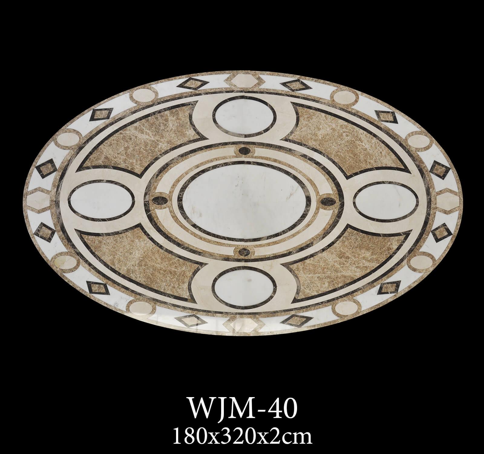Waterjet Medallion WJM40