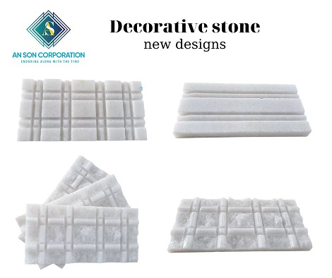 White Decoration Stone