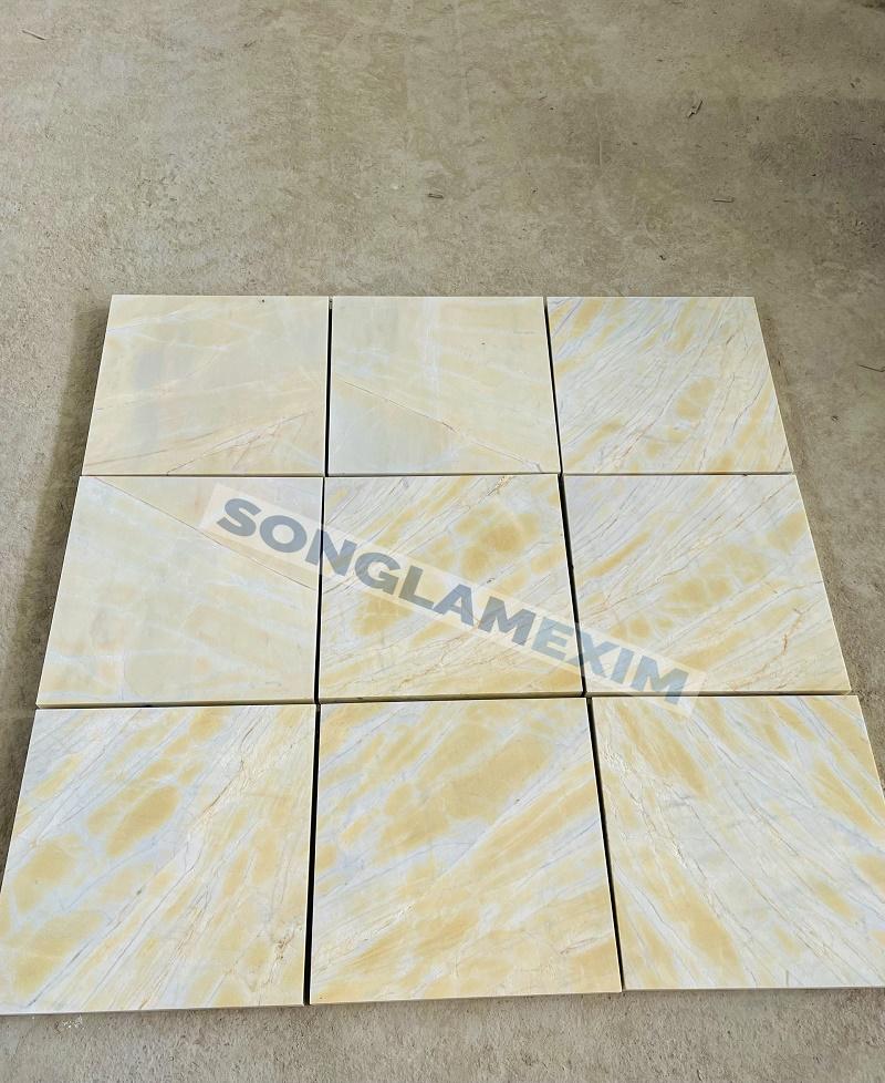 Crystal Yellow Marble Tile