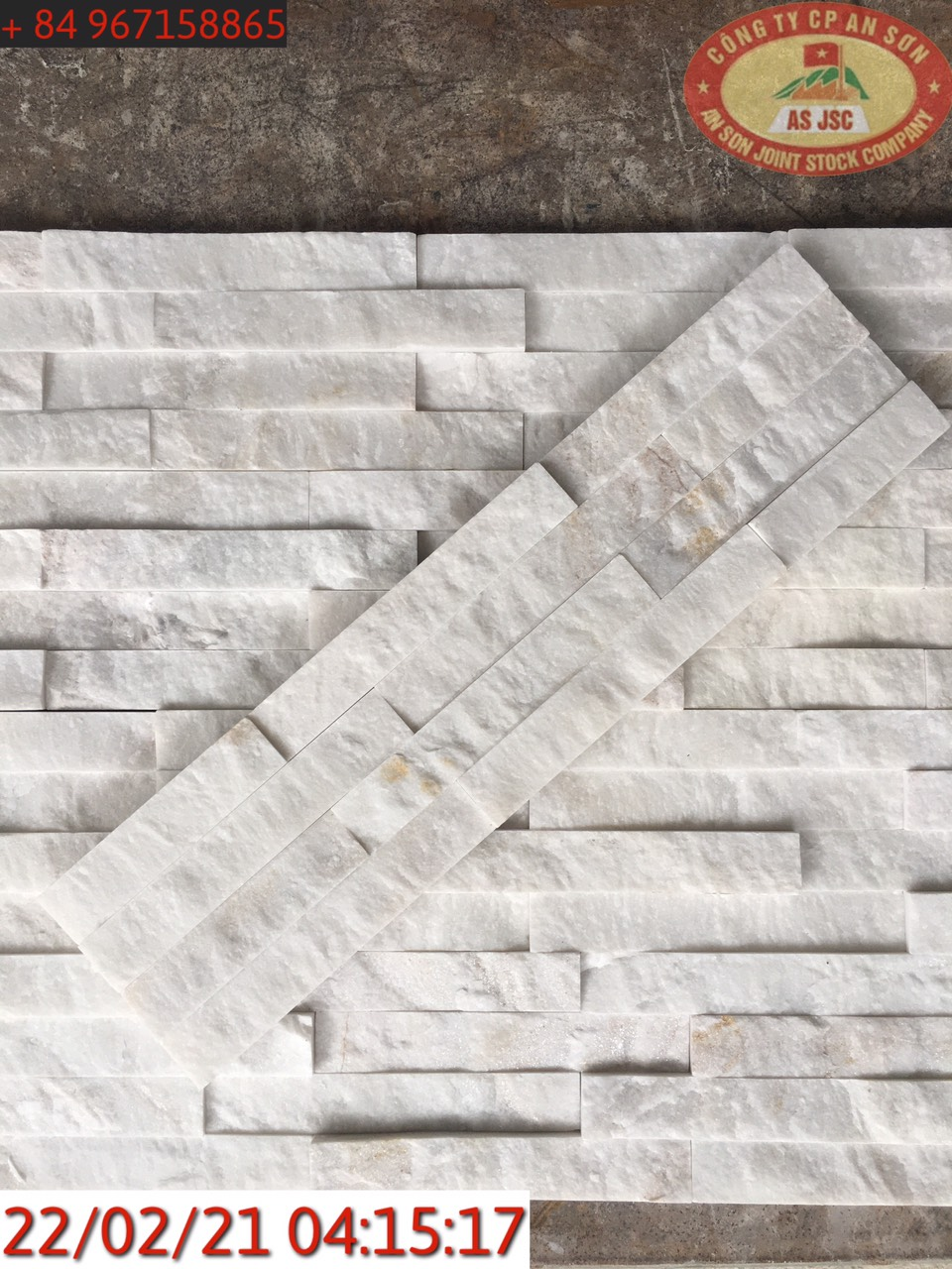 Milky White Natural Culture Stone Wall Cladding
