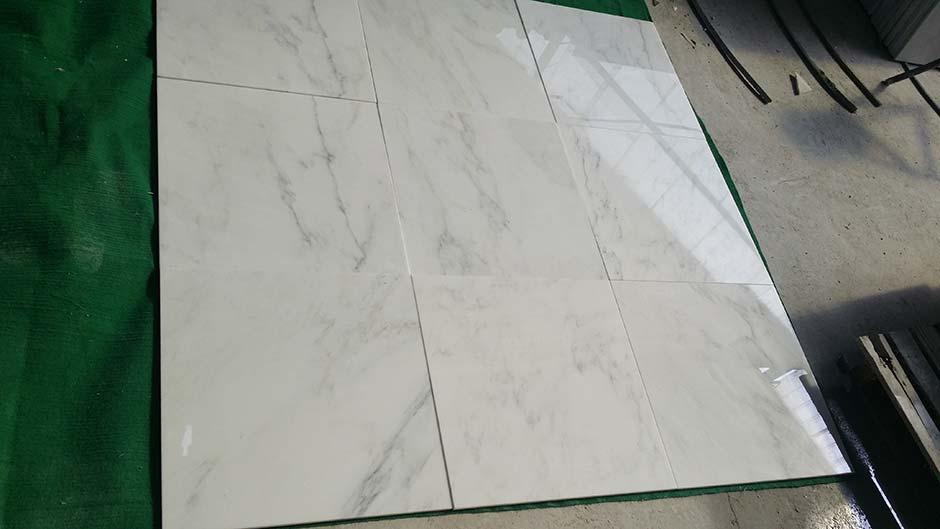 Oriental White Tiles
