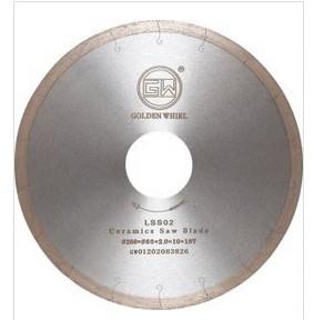 Laser trough Ceramics saw blade 260