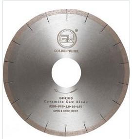 Brazed Ceramic saw blade 260
