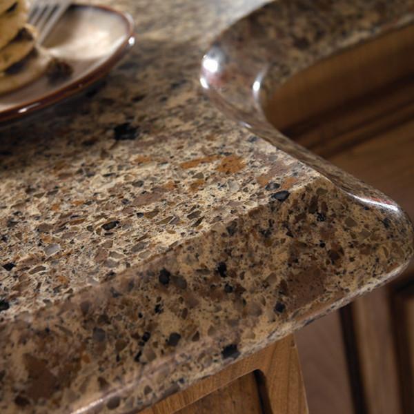 Multicolor Quartz Stone Slab for Kitchen Countertop