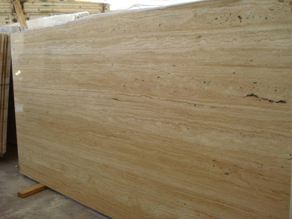 vein cut travertine
