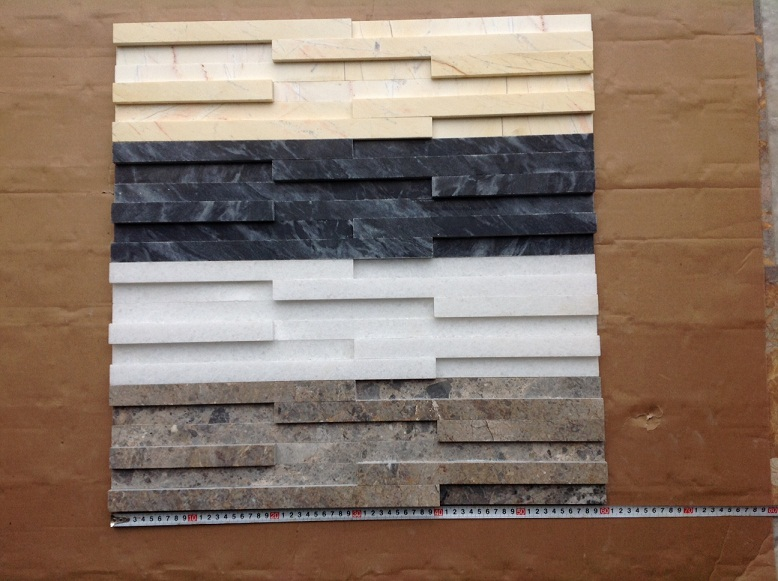 Glue cladding stone