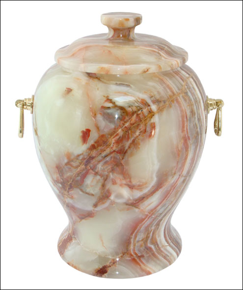 MARBLE ONYX ASH URN CREMATION URNS