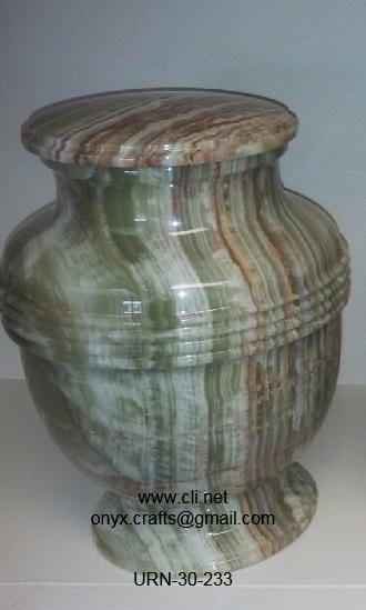 Onyx Funeral Urns in Wholesale
