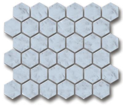 hexagonal mosaic stone mosaic mosaic tile