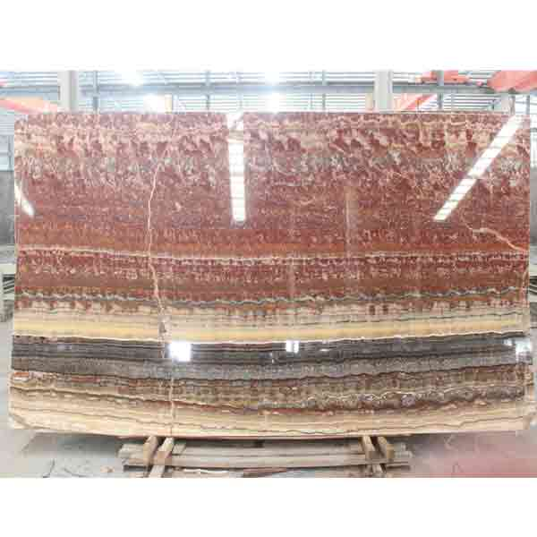 Imported ruby onyx slabs
