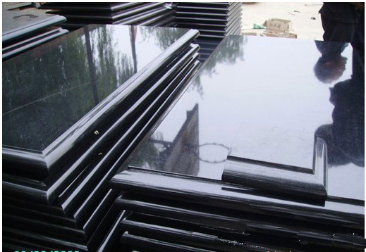 shanxi black granite thick slab